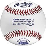 Rawlings Raised Seam Baseballs, Cal Ripken Competition Grade Baseballs, Box of 12, AMARCAL1