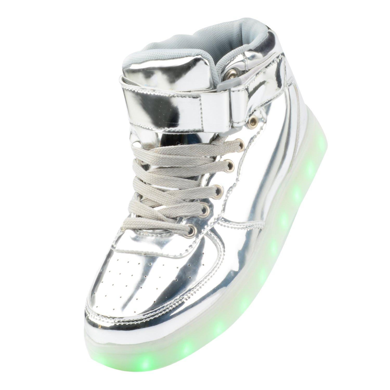 Gloria JR, Sneaker uomo, (Argento)Silver, 36 EU