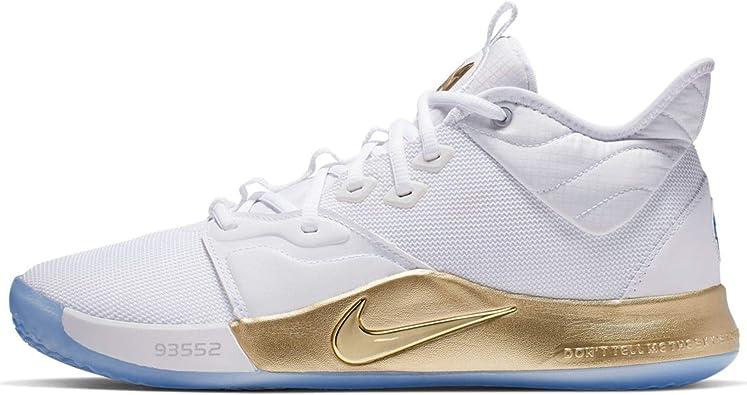 Nike Pg 3 NASA, Chaussures de Basketball Homme: