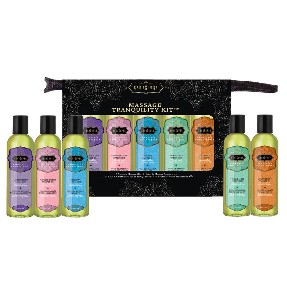 Kama Sutra Massage Tranquility Kit, 15.2 oz, 10 fl. oz. 24