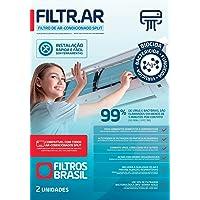 Filtro Ar Condicionado Split FILTRAR Elimina Virus Bacterias