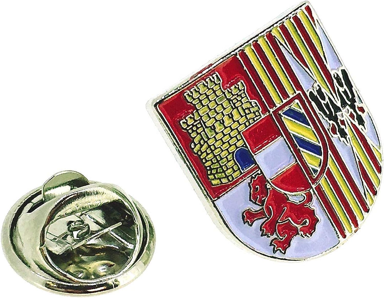 Gemelolandia Pin de Solapa Escudo del Tercio de Juan de Austria Tercero de la Legión: Amazon.es: Ropa y accesorios