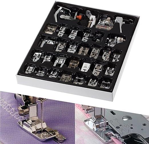 Konesky Máquina de coser de 32 piezas Máquina de coser Prensatelas ...