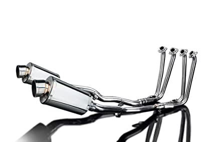 Amazon Com Delkevic Full 4 2 Yamaha Fjr1300 Ss70 9 Stainless Oval