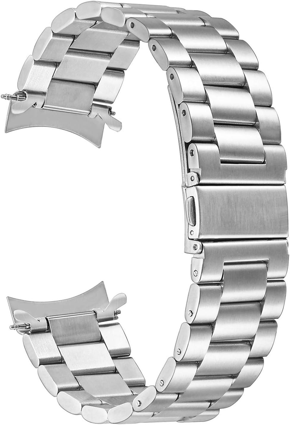 TRUMiRR Samsung Gear S3 Reloj Correa, 22mm Banda de Reloj Milanese Loop Correa magnetica de Bloqueo para Samsung Gear 2 R380 R381 R382, Moto 2 360 46mm, Pebble Time/Steel, Huawei Watch 2 (Classic)