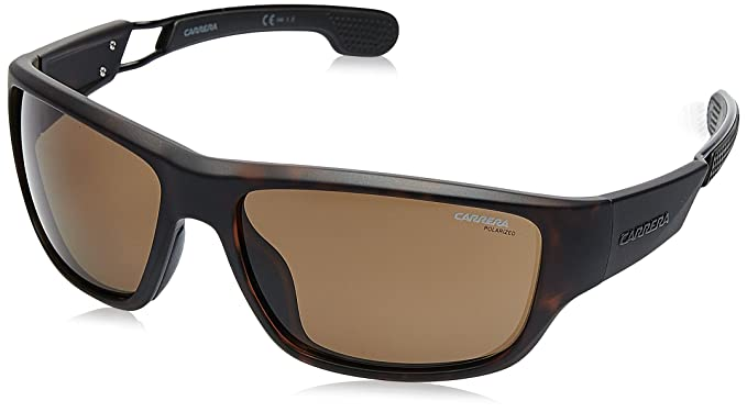 6601873e72 Amazon.com  Carrera 4008 s Polarized Rectangular Sunglasses MATT ...