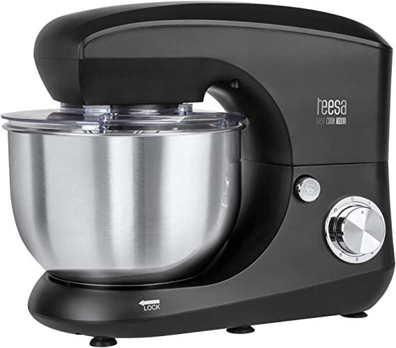 Teesa TSA3545-B EASY COOK SINGLE BLACK - Robot de cocina, color negro: Amazon.es: Hogar