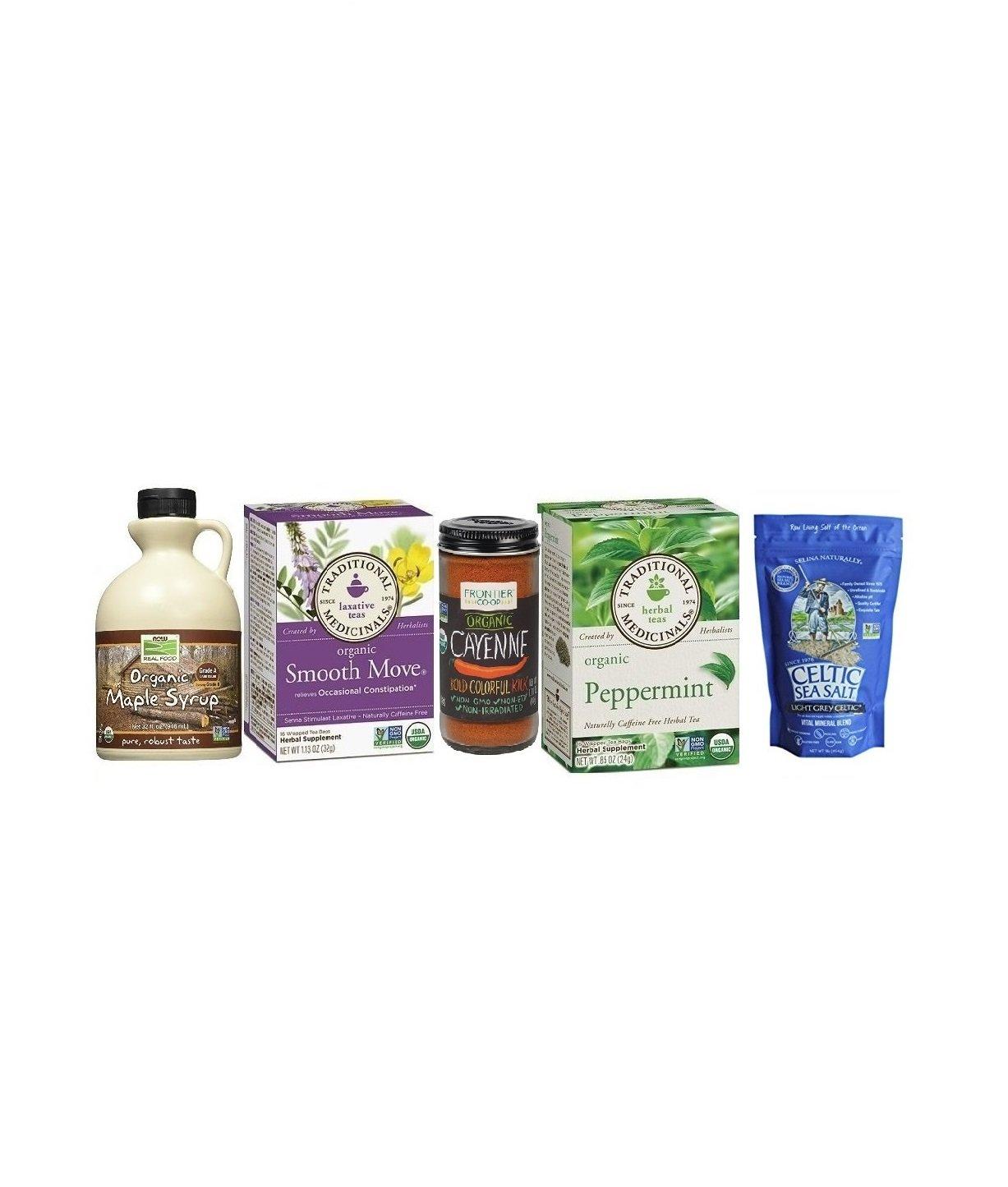 USDA Certified Organic Ingredients Master Cleanse 10 day Kit