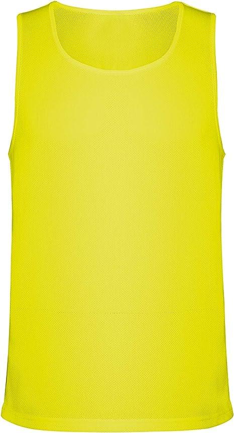 Guuja Camiseta de Tirantes Anchos en Tejido Microperforado Cuello Redondo Camisa Muscular Respirante para Correr: Amazon.es: Deportes y aire libre