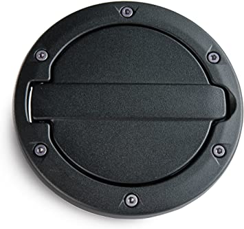for Jeep Wrangler JK, Finish AMP Research 73000-01A Black Fuel Door