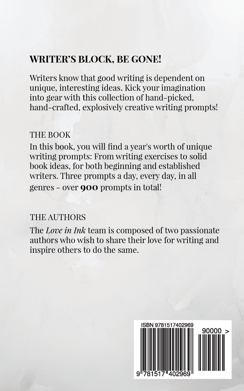 unique creative writing prompts