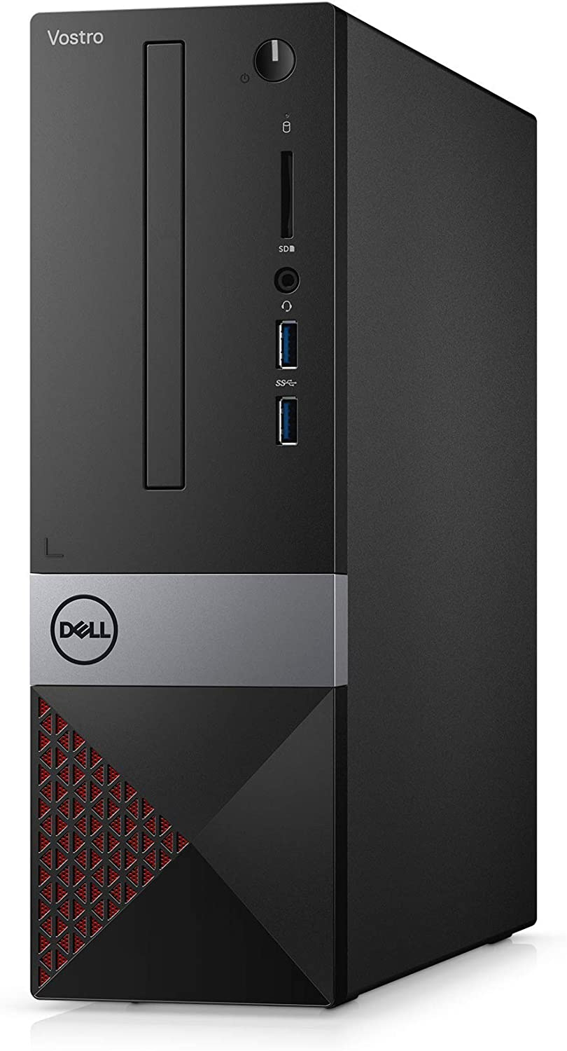 Dell Vostro Desktop 3470 SFF N1P64 - Intel Core i3-4 GB RAM - 128 GB SSD - Windows 10 Pro - Black