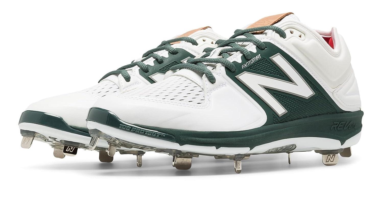 (ニューバランス) New Balance 靴シューズ メンズ野球 Low-Cut 3000v3 Metal Cleat White with Green ホワイト グリーン US 15 (33cm) B01J5BTWYY