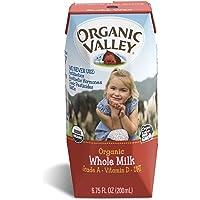 12-Pack Organic 6.75 oz Valley Whole Milk