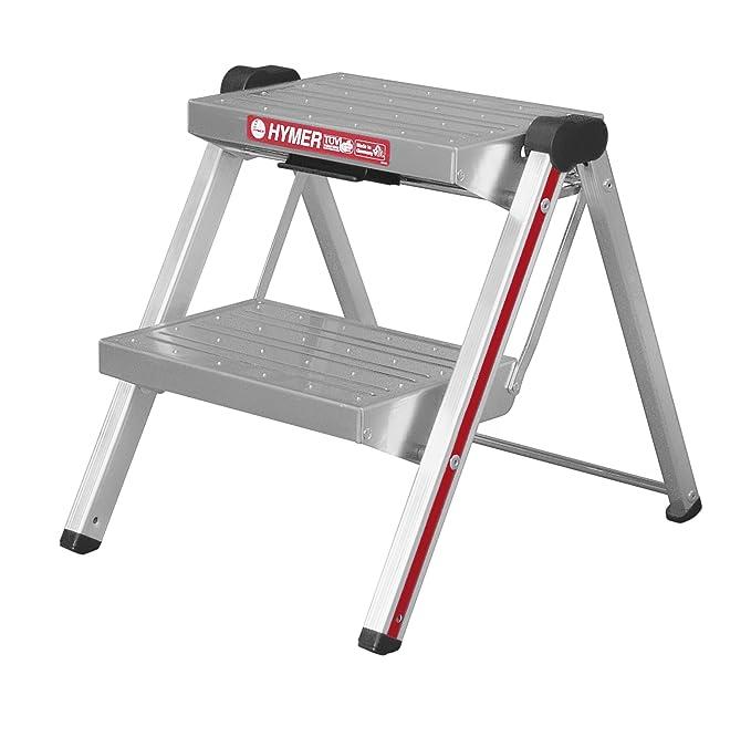 2 opinioni per Hymer 603002- Scaletta in alluminio, 2 gradini
