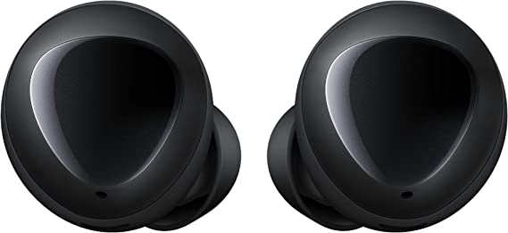 Amazon Com Galaxy Buds True Wireless Earbuds Wireless Charging Case Included Black Us Version