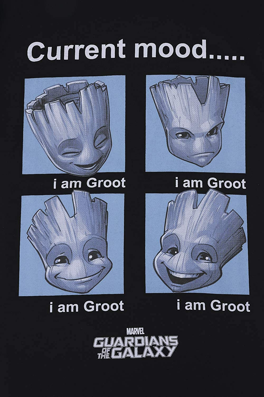 Mens Marvel Guardians of The Galaxy I am Groot Short Pyjamas