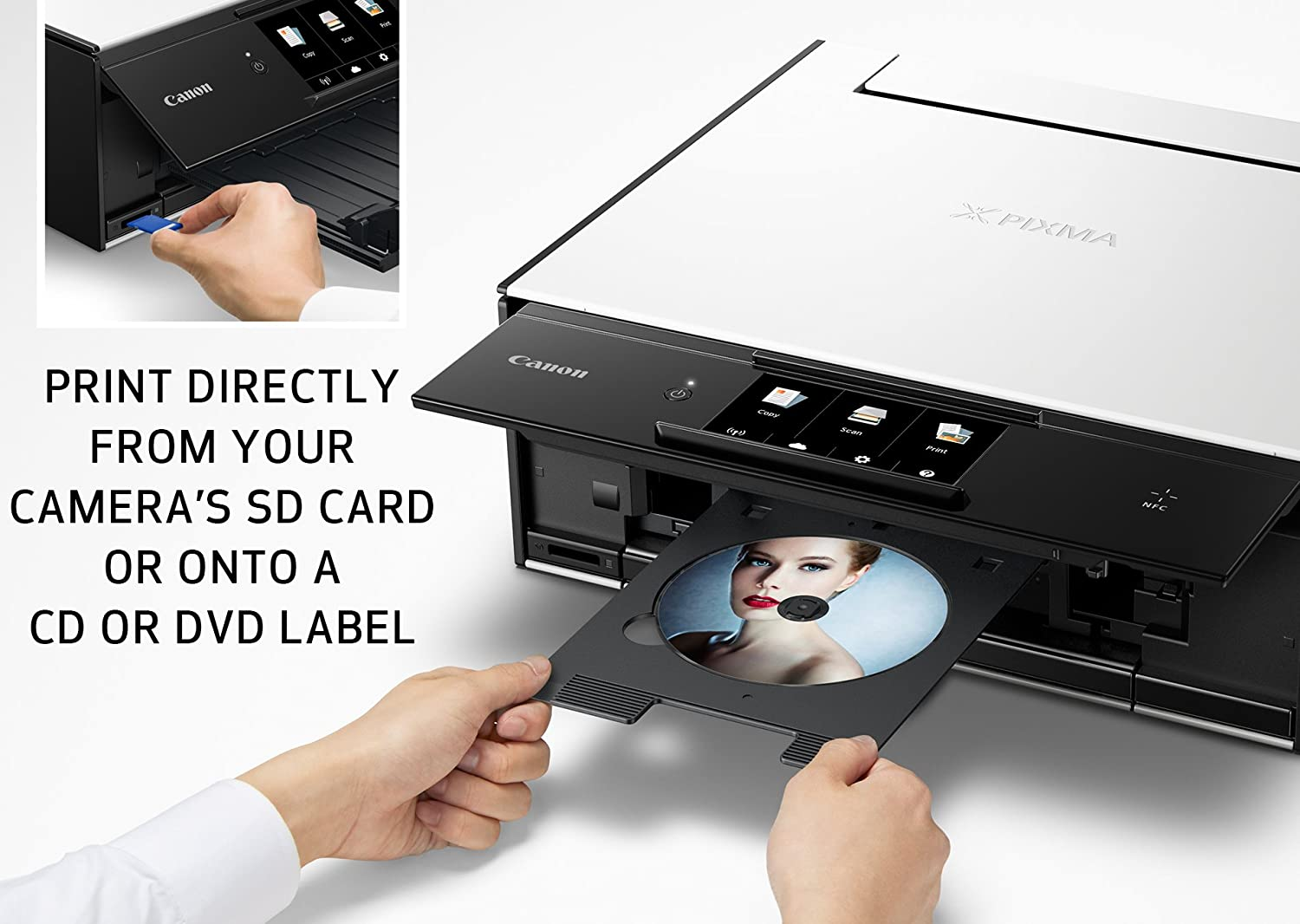 Canon Ts9020 Wireless All In One Printer With Scanner Hp 8500a Diagram And Copier Mobile Tablet Printing Airprint Google Cloud Print Compatible