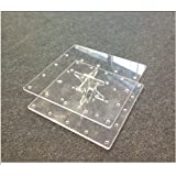 Flat Pack Cake Pop / Lollipop Acrylic Stand Holds 24 Cake Pops - BPS0082