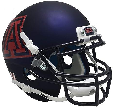 94a67897 Amazon.com : Schutt NCAA Arizona Wildcats Football Helmet Desk Caddy ...