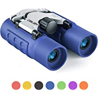 Binoculars for Kids Best 3-12 Years Boys Girls 8x21 High-Resolution Real Optics Mini Compact Binocular Toys Shockproof…