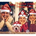 4-Pk Chic.Yumi Santa Hat Family