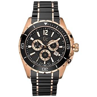 Guess - Collection - Non - x76004g2s - relojs Hombre - Cuarzo - Negro - de Pulsera Acero et Ceramica: Amazon.es: Relojes
