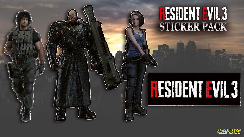 Resident Evil 3 with Stickers (Exclusive to Amazon.co.UK) - Xbox One [Importación inglesa]: Amazon.es: Videojuegos