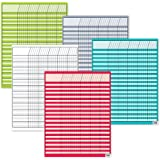 Creative Teaching Press Bright Colors Incentive 5-Chart Pack (Tracking Progress for Students), Multi (974)