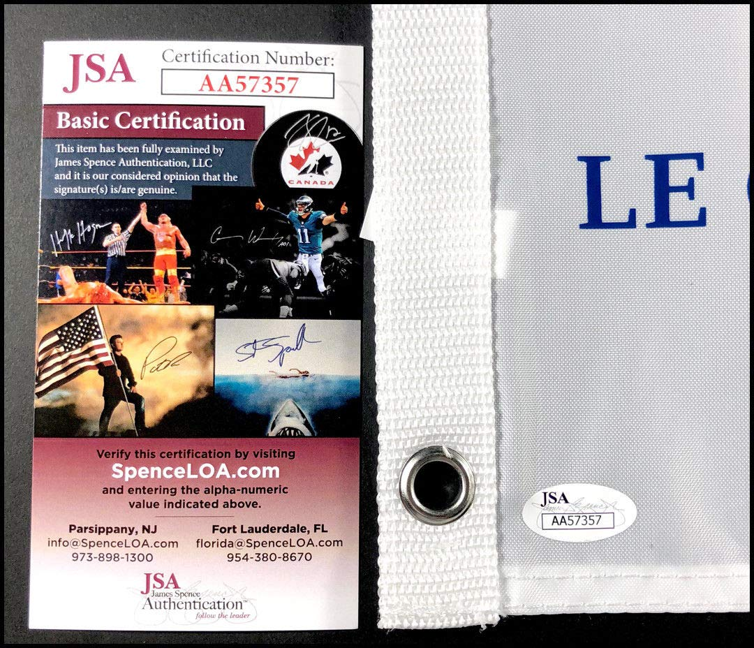 Bubba Watson Autographed Signed 2018 Ryder Cup Pin Flag Team Usa Pga JSA Authentic