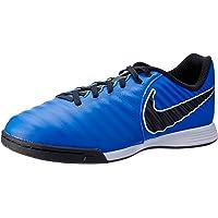 Nike Australia Boys Jr Legend 7 Academy IC Fashion Shoes, Racer Blue/Black-Metallic Silver