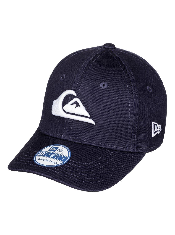 Quiksilver Boys Mountain & Wave Colors - Cap Cap Navy Blazer/Red One Size