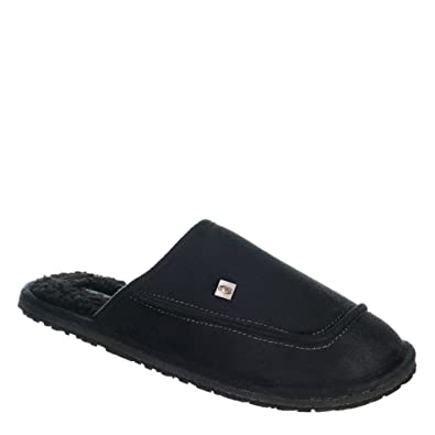 Animal Halpipe Slippers in Negro Negro in 35a824