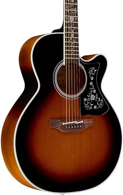 TAKAMINE ef450 C térmico superior guitarra electroacústica: Amazon ...