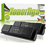 2x Neu Toner ersetzen Kyocera TK-170 für FS1370DN / FS1320D / FS1320DN / ECOSYS P2135D / ECOSYS P2135DN, 100% Neuware, schwarz