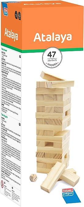 Falomir Atalaya, Juego de Mesa, Clásicos, Multicolor (1): Amazon ...