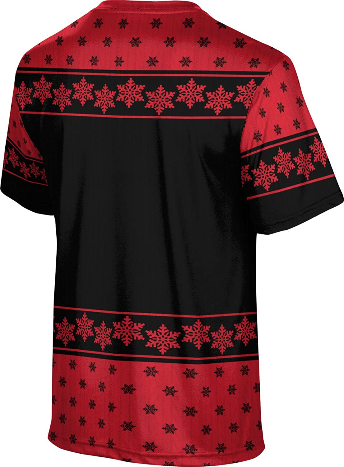 University of The Incarnate Word Ugly Holiday Mens Performance T-Shirt Snowflake