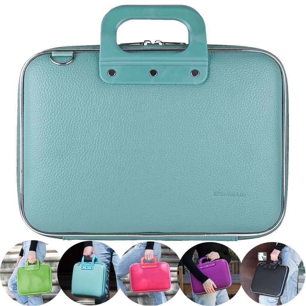 27a37da0dd 10.6 inch Shoulder Bag Leather Messenger Bag iPad Carrying Case Handbag  Tablet Briefcase Waterproof Hard Shell