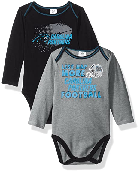 Amazon.com  NFL Boys 2 Pack Long Sleeve Bodysuit  Sports   Outdoors a797ad85b