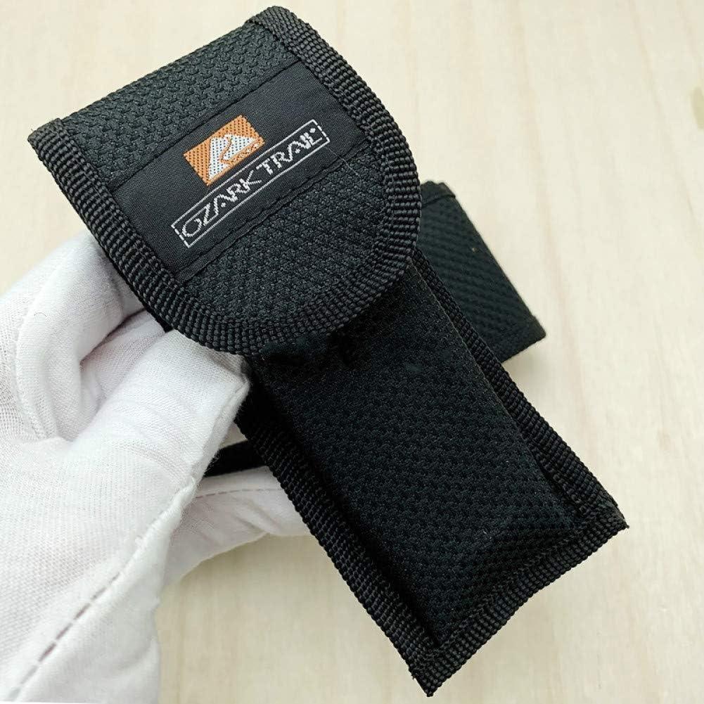 Zonfer 1pc Nylon-falte Messerscheide Aus Nylon Oxford Textiltasche Speicher-Beutel-Multi-h/ülle F/ür Multitools