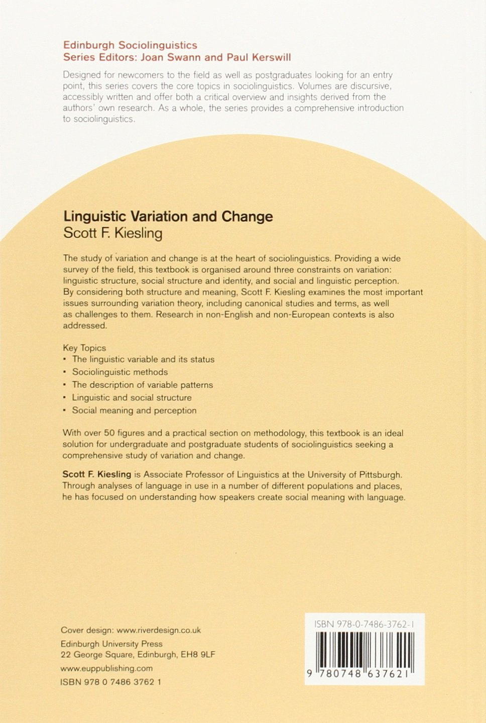 Linguistic Variation and Change Edinburgh Sociolinguistics: Amazon ...