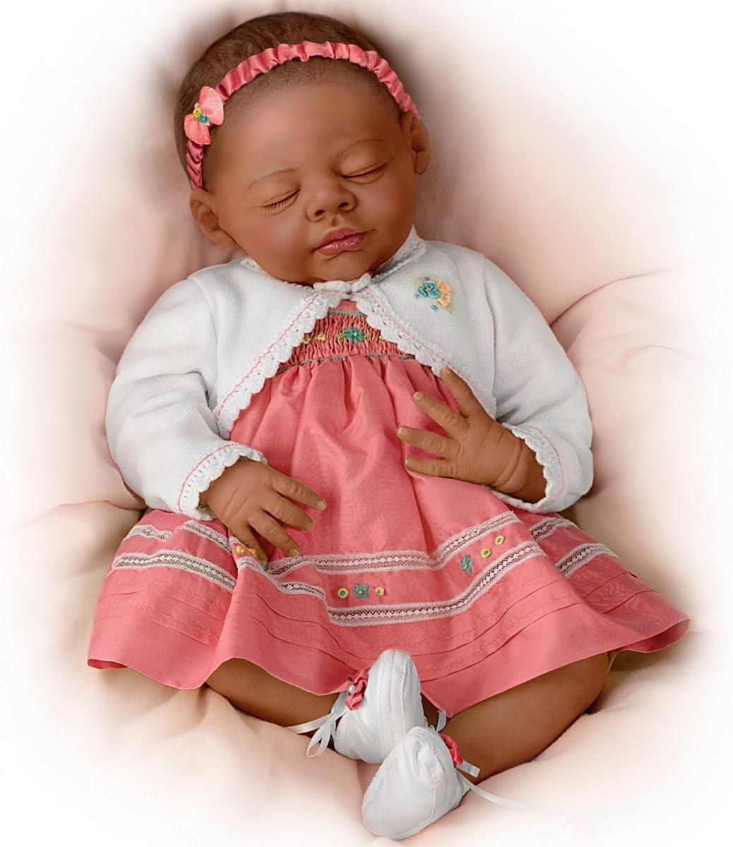 Muñeca afroamericana realista: bella Beyonce por Ashton Drake ...