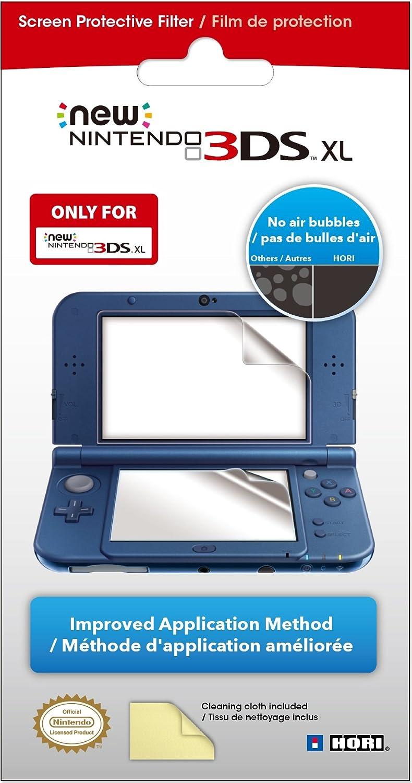 Hori Pikachu Hard Pouch For New Nintendo Steel Case 3ds Xl Ll Silver Best Seller Screen Protective Filter Ninten