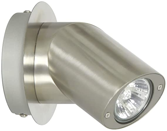 Plafoniere Per Esterno Led Ranex : Ranex singolo spot light wall gu w acciaio