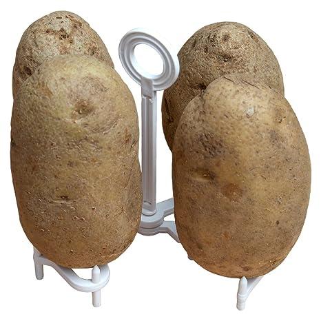 Amazon.com: Home-x Microondas Baked Potato rack: Kitchen ...
