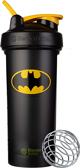 BlenderBottle Justice League Shaker Bottle, Classic V2, Batman