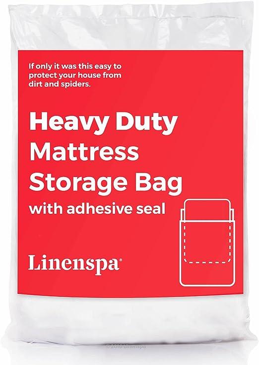 Linenspa Heavy Duty 6 mil Mattress Bag for Moving Storage and Disposal Twin//Twin XL LS6MTXMB
