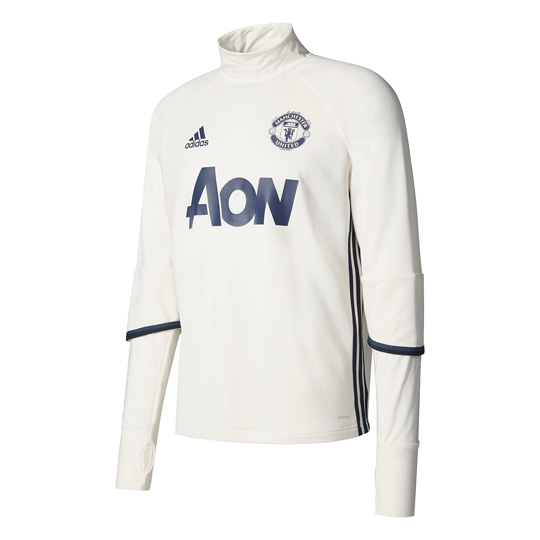 Adidas MUFC TRG Top Sudadera Manchester United FC, Hombre AP1022