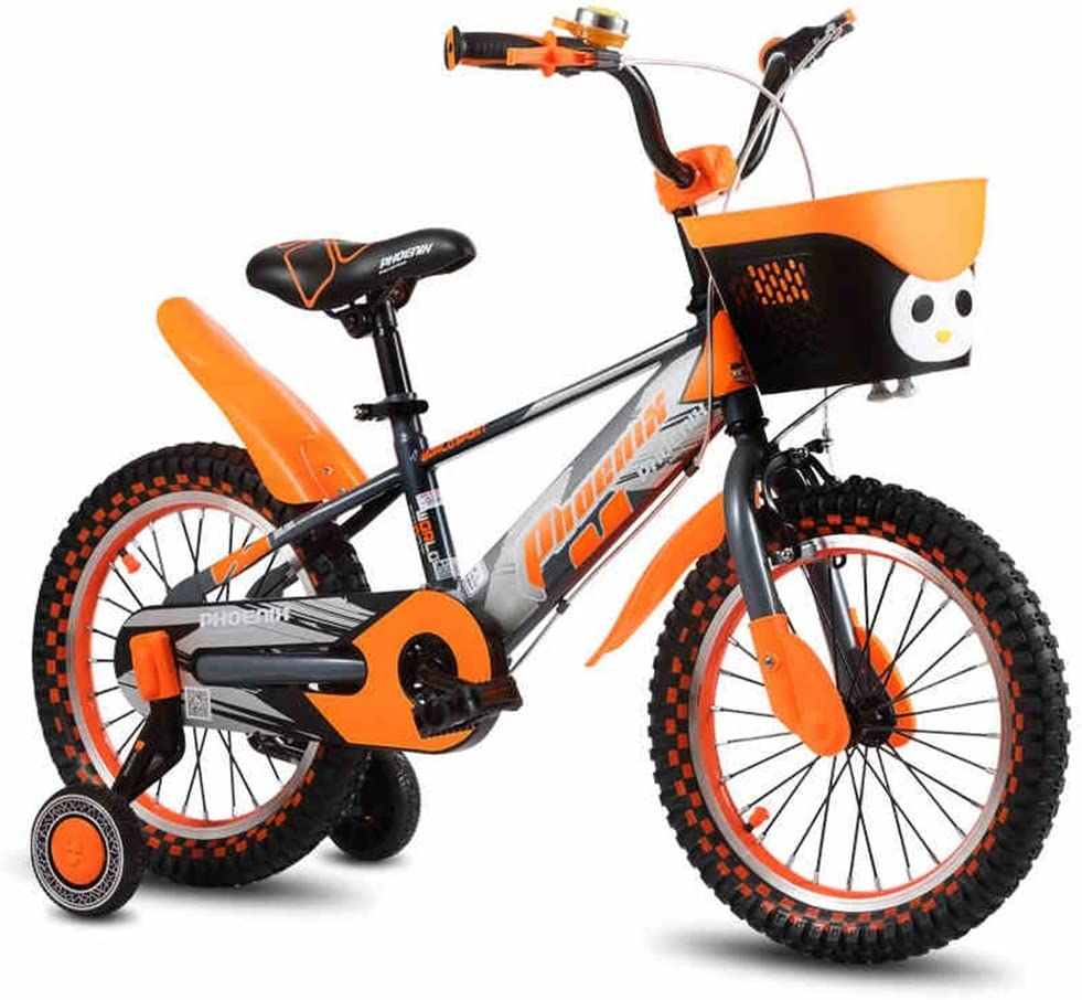 XQ TR-953 Bicicleta Para Niños De Color Naranja Para Niños ...