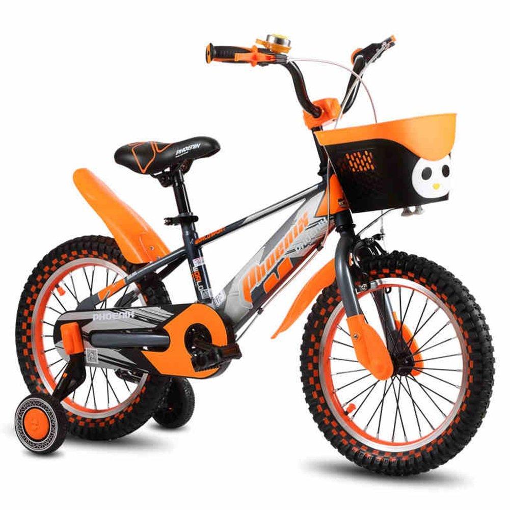 XQ TR-953オレンジ子供の自転車子供の自転車3-13歳の少年少女リトルプリンセス乗馬の安全安定 子ども用自転車 ( サイズ さいず : Length-83cm ) B07C3LFNV7 Length-83cm Length-83cm